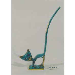 AG3747A - RING STAND CAT                    - HOMERE