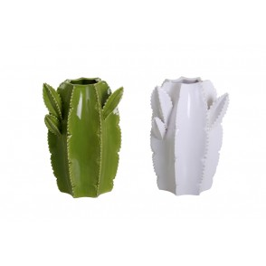 CD2981 - ASSORTED OGIVE CACTUS VASES - CACTUS
