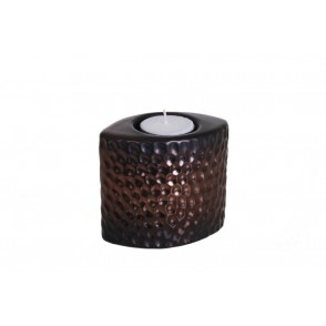 DT2514 - CANDLE HOLDER COPPER CELLS - EQUINOXE