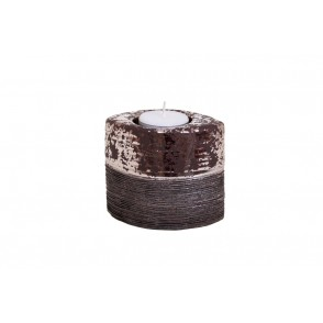 DT2521 - CANDLE HOLDER MARBLE EFFECT - EQUINOXE