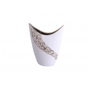 DT2777 - VASE HORN MOUTH MEDIUM SIZE WHIRL STYLE - EQUINOXE