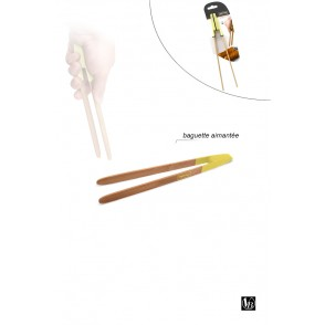 FIH252 - BAMBOO MAGNET FOOD TONGS - VIN BOUQUET