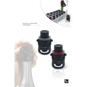FIT006 - CHAMPAGNE STOPPER AND SAVER - VIN BOUQUET