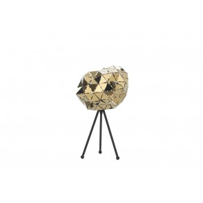 LV2025 - LAMP WITH METAL/GOLDEN FACETS - ONLI