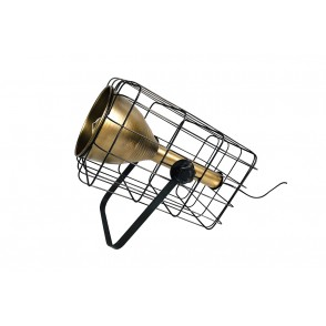 LV2066 - TABLE LAMP INDUS GOLD TUBE PROJECTOR - INTERIOR