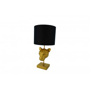 LV2073 - PANTHER HEAD LAMP AB-DAY BLACK - INTERIOR