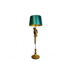 LV2075 - PARROT FLOOR LAMP WITH OIL BLUE BLUE - INTERIOR