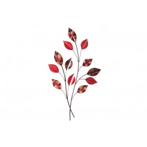 MD4462 - RED LEAVES BRANCHES - BEAUX-ARTS