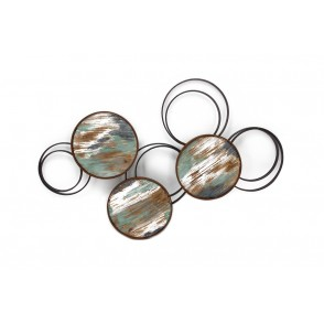 MD4623 - WOODEN AND METAL CIRCLES - BEAUX-ARTS