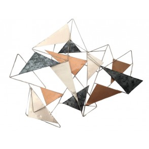 MD4835 - STRUCTURE WITH FULL AND EDGES TRIANGLES - BEAUX-ARTS