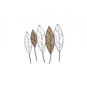 MD4869 - LEAVES METAL AND WOOD - BEAUX-ARTS