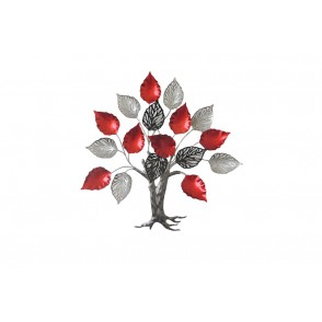 MD4873 - TREE RED GREY SILVER COLOR - BEAUX-ARTS