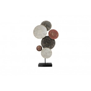 MD4879 - TABLE SCULPTURE WITH DISCS - BEAUX-ARTS