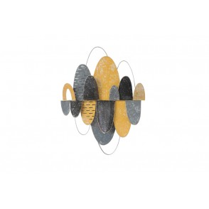 MD4882 - OVAL DISCS YELLOW GREY COLOR - BEAUX-ARTS