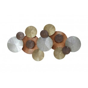 MD4938 - DISCS ROSE/YELLOW/SILVER GOLD - BEAUX-ARTS