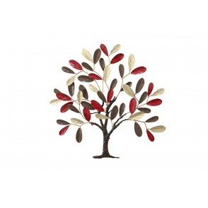 MD5031 - LIFE TREE GOLD/CHOCOLATE/BURGUNDY - BEAUX-ARTS