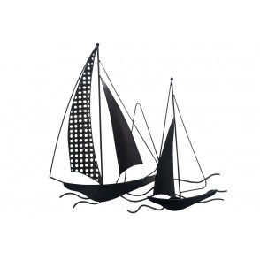 MD5035 - SAILING BOATS X2 WITH CUT SAIL - BEAUX-ARTS