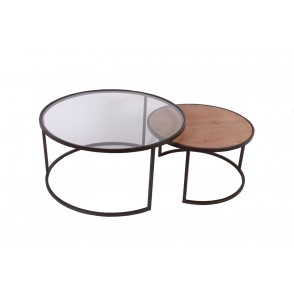 MM01182 - SET OF 2 ROUND TABLES  - MASTER