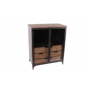 MM01321 - GLASS CASE WITH 6 DRAWERS - MASTER