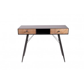 MM01383 - CONSOLE TABLE 2 DRAWERS/1 NICHE WOOD/METAL - STONER
