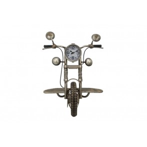 PE1853 - SHELVES/CLOCK MOTORCYCLE STYLE - TEMPO