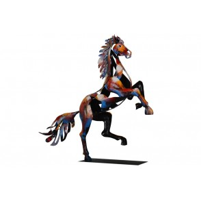 SD1048 - REARED UP HORSE - PIGMENT