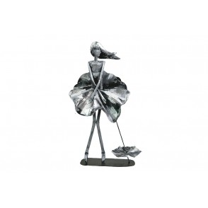 SD1060 - WOMAN MARILYN POSITION SILVER EFFECT - PIGMENT