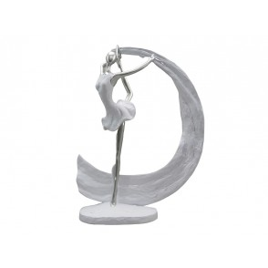 ST8163 - GYMNAST WITH RIBBON FRONT POSITION - ARABESQUE