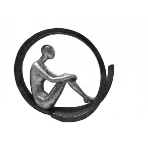 ST8166 - STATUE THINKING POSITION -