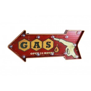 TA5465 - LED WALL DECOR GAS STATION - GALLERY