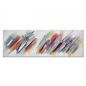 TA5511 - ABSTRACT DIAGONAL LINES 40*120 - GALLERY
