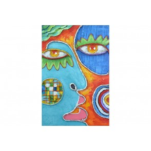 TA5637 - PAINTING FACE ZANNI 90*60 - GALLERY