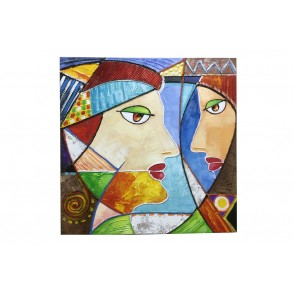 TA5641 - PAINTING FACE ISABELLA 80*80 - GALLERY