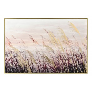 TA5676 - PAINTING PAMPAS GRASS 120*80 GOLD FRAME - GALLERY