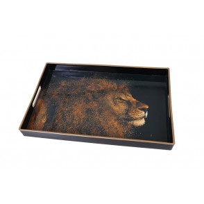 UD7713 - RECTANGULAR TRAY LION - HOME