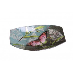VA10451 - RECTANGULAR CURVED PLATE BUTTERFLY STYLE - ACAPULCO