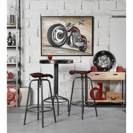 SOCADIS CADEAUX - Racing - MM01100 - TABLE DE BAR DECOR PNEU - RACING
