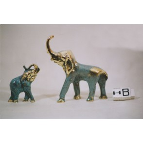 AG3912-ENSEMBLE 2 ELEPHANTS    HOMERE