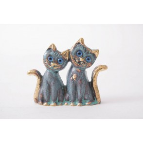 AG5310 - COUPLE DE CHATS - HOMERE