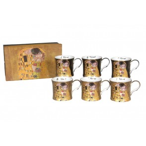 AU4815 - ENSEMBLE 6 MUGS KLIMT 280 ML - G.KLIMT