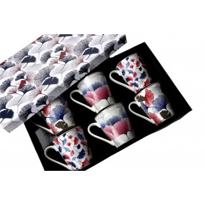 AU4828 - ENSEMBLE 6 MUGS - GINKGO