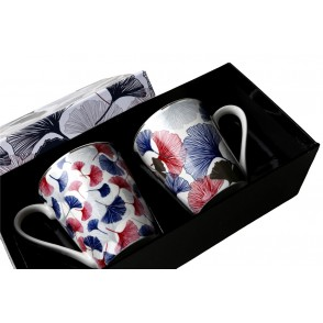 AU4829 - ENSEMBLE 2 MUGS - GINKGO