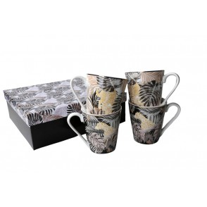 AU4833 - ENSEMBLE 4 MUGS - SAVANNAH