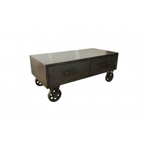 BP3902 - TABLE BASSE STYLE INDUSTRIELLE - MASTER
