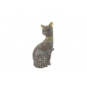 DG3186 - CHAT ASSIS GRIS/GOLD - OSIRIS