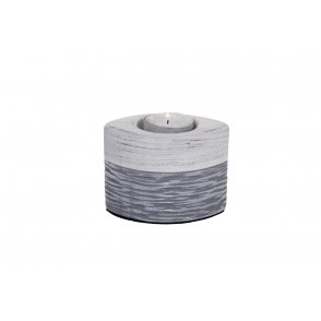 DT2550 - BOUGEOIR GRIS PATINE - DUALITE
