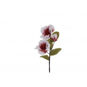 FA1031 - MAGNOLIA ARTIFICIEL ROUGE - HEVEA