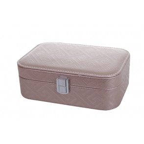 FE1009 - COFFRET A BIJOUX RECTANGLE BEIGE - ELEA