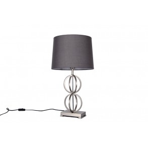 LV1801 - LAMPE METAL CERCLES 2 ETAGES - INTERIOR