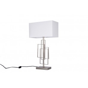 LV1804 - LAMPE METAL RECTANGLES ENCHEVETRES - INTERIOR